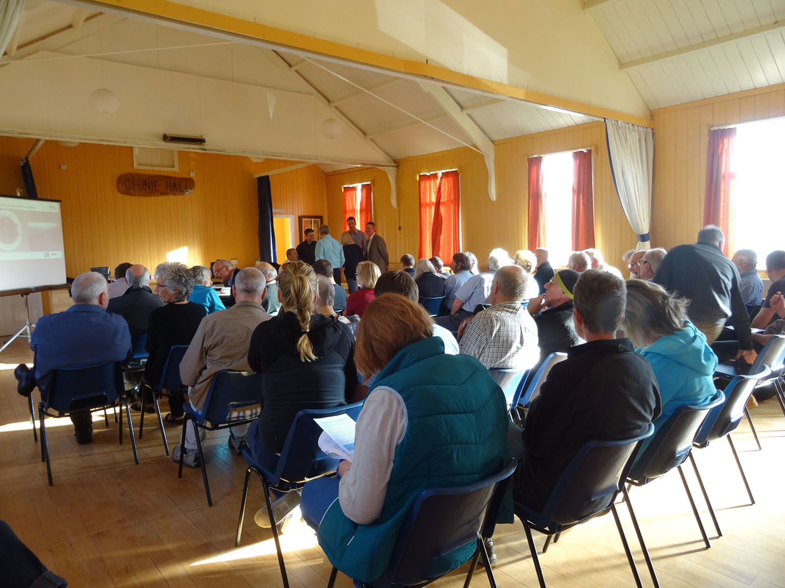 Lunan Valley Broadband meeting